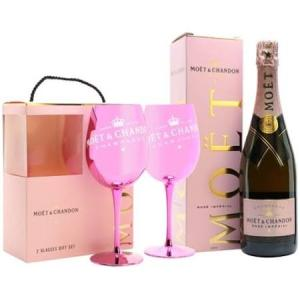 Wholesale Champagne: Moet & Chandon Rose Imperial NV Champagne Gift Box