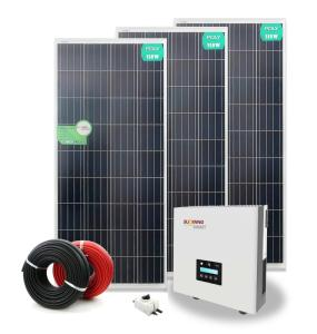 Wholesale power supply: On House Rooftop Supplying Electricity Power 5KW Home Solar Power System On Grid/Grid-tied