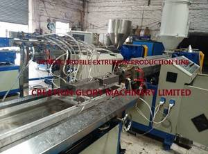 Wholesale pvc profile: Stable Performance PVC PP PE ABS PS Plastic Profile Extrusion Machine