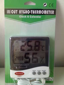 Wholesale hygrometer: Wall Hygrometer HT602-2