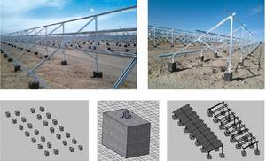 Wholesale solar flat roof system: Solar Mounting Bracket
