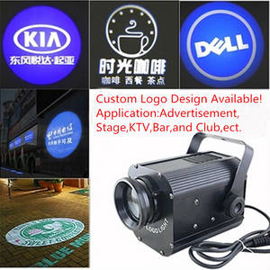 Wholesale projector light: LED 30W Logo Projector Rotating Lights,Custom Logo Available!