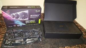 Wholesale game: ASUS ROG GeForce GTX 1070 Ti STRIX-GTX1070TI-A8G-GAMING 8GB 256-Bit GDDR5