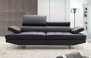Wholesale lounge bed fabric: Leather Sofa