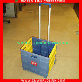 Wholesale Shopping Trolleys & Carts: Plastic Foldable Pull Trolley