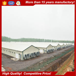 Wholesale poultry farm: Low Cost Commercial Prefab Steel Frame Poultry Farm Shed Chicken House