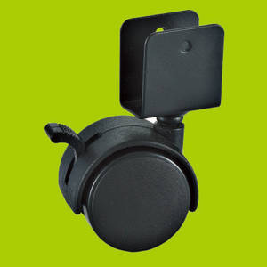 Wholesale Furniture Casters: Clamp Platen Furniture Caster with Brake