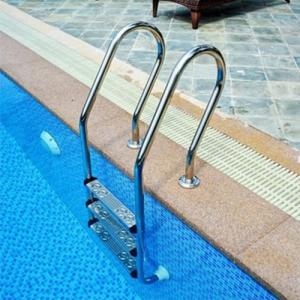 Wholesale steel ladder: Anti-sip Safety Stainless Steel 304/316 Swimming Pool Ladder