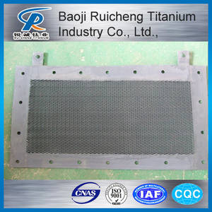 Wholesale titanium sheets hot sale: Mmo Titanium Anode Mesh for Water Treatment
