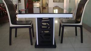 Wholesale glass dining table: Glass Dining Set  Dining Table and Chairs Dining Furniture
