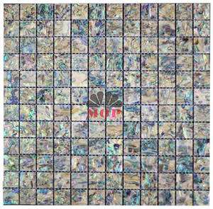 Wholesale wall mosaic: Square Sea Shell Mosaic Wall Tile