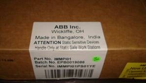 Wholesale abb bailey controls: ABB Electrical Spare Parts