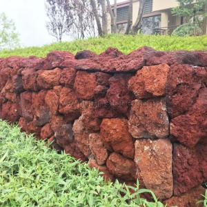 Wholesale restroom: Red Lava Landscape Stone