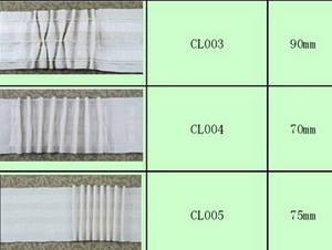 Wholesale curtain tape: Hot sell 3 inches curtain tape