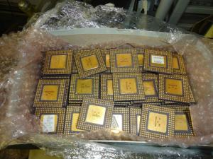 Wholesale recovery card: Whole Sale Pentium Pro Gold Ceramic CPU Scrap / High Grade CPU Scrap / Computers