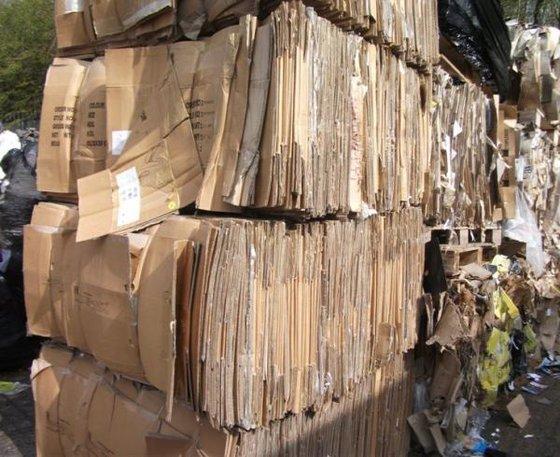 Occ Waste Paper Scrap (110 X 110 X 140 Cm)