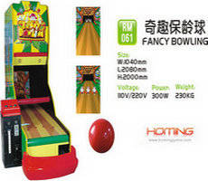 Wholesale coin operated game machine: Fancy Bowling Redemption Game Machine