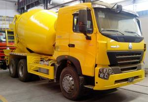 Wholesale truck water pump: HOWO A7 6x4 Concrete Mixer Truck  8-12m3, 336/371hp