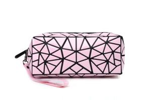 Wholesale Special Purpose Bags & Cases: Wholesale Women Cosmetic Pouch Geometric Folding Large Hanging Toiletry Bag