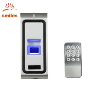 Wholesale standalone rfid reader: Remote Controller Biometric Fngerprint Access Control with RFID Card Reader for Door Security Entry
