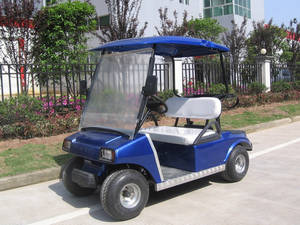 Wholesale hydraulic lift cart: golf cart can be with gas or electric