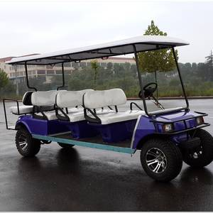 Wholesale golf cart rear view: Hot sale electric sightseeing cart