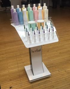 Wholesale acrylic display: Acrylic Cosmetic Display Rack