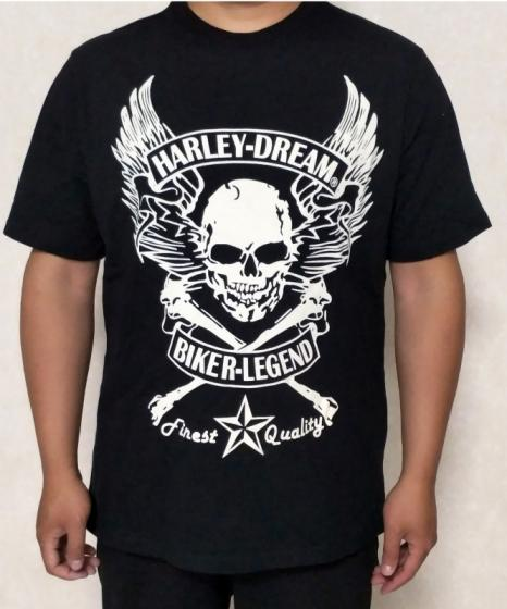 Sell wholesale indian motorcycles biker t-shirts for man