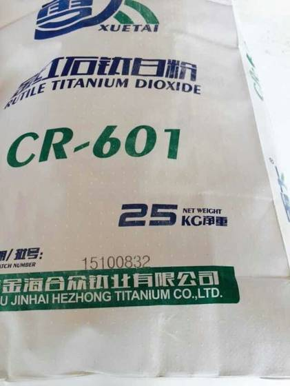 Sell chloride process tio2 CR-601 for coating paint plastic