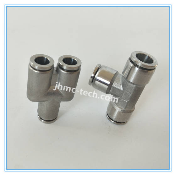 Pipe Fittings: Sell Stainless Steel Union Y Pneumatic Fittings