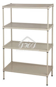 Wholesale Other Storage & Organization: 4 Tiers Adjustable Perforated Metal Rack
