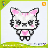 Wholesale coaster: Innovative Interesting DIY Perler Beads Coaster DIY Educational Toys
