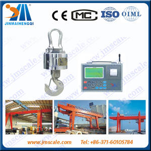 Wholesale used 50t truck crane: JINMAI Digital Hanging Scale Electronic Hook Scales