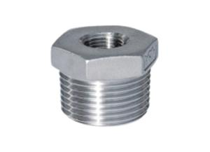 Wholesale bsp hydraulic fittings: HEXAGON BUSHING  Stainless Steel Hexagon Bushing   Threaded Fitting