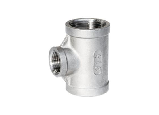 REDUCER TEE  Stainless Steel Tee Factory  Threaded Fittings