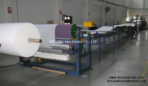PE Foam Sheet Extrusion Line JINSUNG