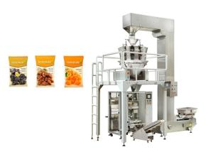 Wholesale potato machinery: Potato Chips Nuts Peanuts Package Vertical Packing Machine with Multi Heads Weigher