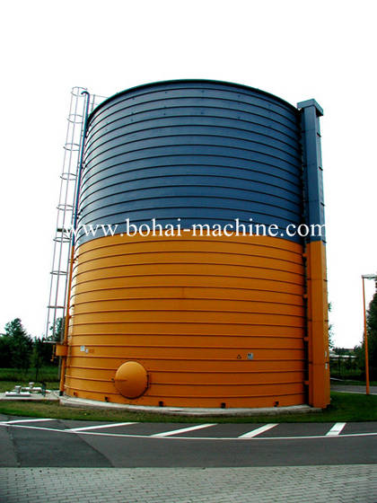 Sell sprial steel silo forming machine