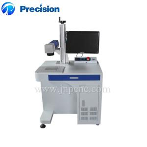 Wholesale precision optics: Precision 20W 30W Optical Fiber Laser Marking Engraving Machine Portable Desktop