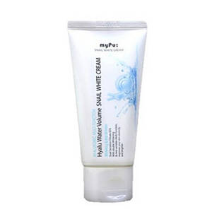 Wholesale hydrolyzed collagen good price: Mypu: Hyalu Water Volume Snail White Cream