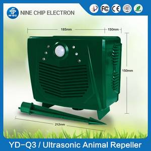 Wholesale pir: PIR Motion Sensor Wild Animals Repeller Bird Scare Device