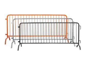 Wholesale street tree: Steel Barricades for Construction Site, Bicycle Race & Stations