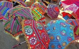 Wholesale Umbrellas & Raincoats: Handicraft Umbrella
