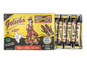 Wholesale herbal: Black Color Herbal Henna Tube