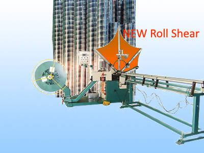 Sell Roll shear spiral duct machine