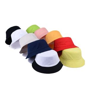 Wholesale fisherman hats: Men and Women Simple Hip Hop Folding Bucket Caps Fisherman Hat Street Denim Unisex Cap Panama Sun Be