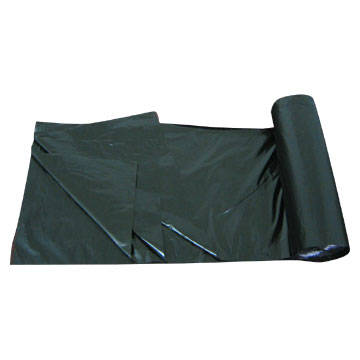 Sell LDPE Black Heavy Duty Star Seal Roll pack Plastic Garbage Bag