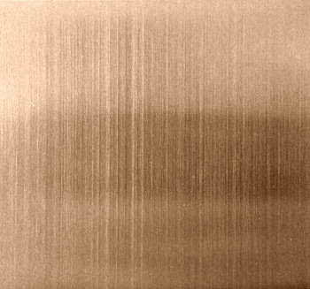 Pvd Copper Coated Hairline Finish Stainless Steel Sheet Id