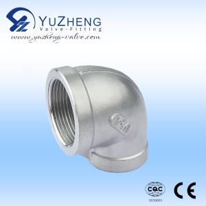 Wholesale din bsp npt threaded: 316 Stainless Steel Pipe Stainless Steel 90 Degree Elbow