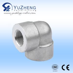 Wholesale steel elbow: Stainless Steel High Pressure Forged 90 Degree Elbow Pipe Fitting